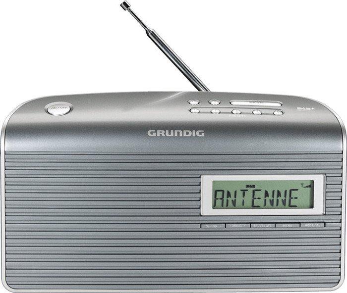 Grundig Music 7000 DAB+ grey/silver