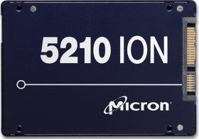 Micron 5210 ION 7.68TB, SED, SATA (MTFDDAK7T6QDE-2AV16FP)