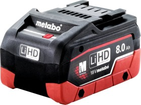 Metabo power tool battery 18V, 8.0Ah, Li-Ion/LiHD (625369000)