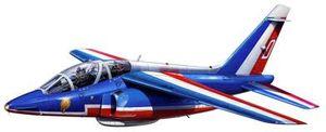Revell Alpha Jet Patrouille de France (04014)