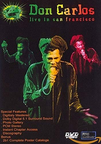 Don Carlos - Live in San Francisco -- via Amazon Partnerprogramm