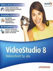 Ulead: Video Studio 8.0 aktualizacja (PC)
