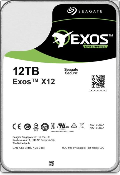 Seagate Exos X X12 12TB, 512e, SAS 12Gb/s (ST12000NM0027)