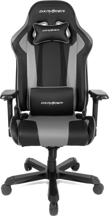 DXRacer King Series King K99 Gamingstuhl, schwarz/grau (OH/KA99/NG / GC-K99-NG-A3-01)