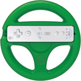 Hori Mario Kart 8 steering wheel mount for Wiimote Luigi green (WiiU)