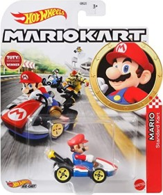 Mattel Hot Wheels Hero Mario Kart Mario (GBG26)