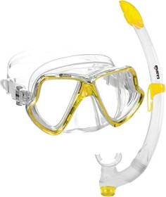 Mares Wahoo snorkel set yellow/clear