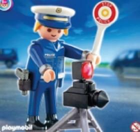 playmobil Special - Polizist mit Radargerät (4902)