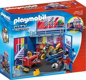playmobil City Action - Take Along Motorcycle Workshop (6157)
