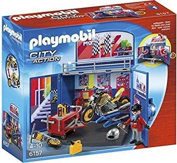 playmobil - City Action - Aufklapp-Spiel-Box Motorradwerkstatt (6157) -- via Amazon Partnerprogramm