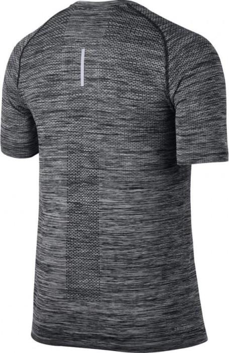 Nike Dri-Fit Knit Laufshirt kurzarm heather/schwarz Preisvergleich |  Geizhals Deutschland