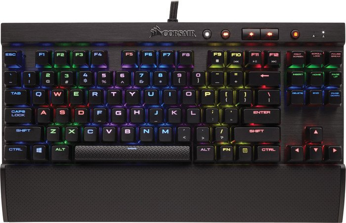 56b4ba9706d Corsair Gaming K65 RGB Rapidfire Compact, MX SPEED RGB Silver, USB, UK  (CH-9110014-UK) starting from £ 118.99 (2019) | Skinflint Price Comparison  UK