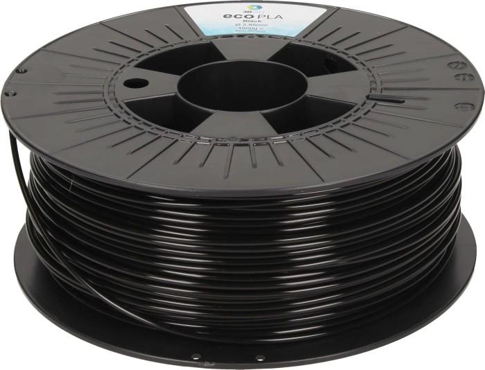 3DJAKE ecoPLA, schwarz, 2.85mm, 1kg (ECOPLA-BLACK-1000-285)