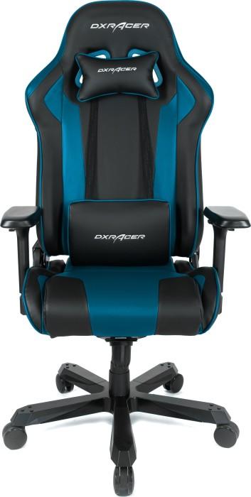DXRacer King Series King K99 Gamingstuhl, schwarz/blau (OH/KA99/NB / GC-K99-NB-A3-01)