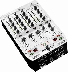 Behringer VMX300 DJ Mixer silver -- © Copyright 200x, Behringer International GmbH