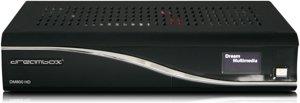 DreamBox DM800 HD schwarz, festplattenvorbereitet