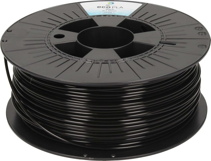 3DJAKE ecoPLA, schwarz, 1.75mm, 2.3kg (ECOPLA-BLACK-2300-175)