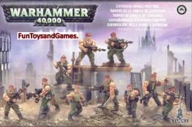 Games Workshop Warhammer 40.000 - Astra Militarum - Catachan Jungle Fighters (99120105040)