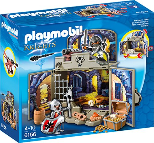 playmobil - Knights - Aufklapp-Spiel-Box Ritterschatzkammer (6156) -- via Amazon Partnerprogramm