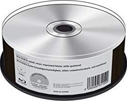 MediaRange BD-R 25GB 6x Silver, 25er Spindel no ID (MR513)
