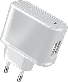 Celly Wall Charger Universal weiß (TCUSB22W)