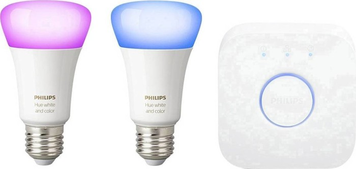 Philips Hue White and Color Ambiance E27 10W Starter-Kit (685754-00)