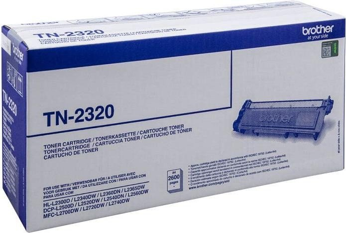 Brother Toner TN-2320 black high capacity (TN2320)