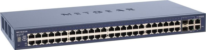 Netgear ProSafe FS752TS, 52-Port, smart managed, stackable