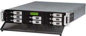 Thecus N8800SAS, 2x Gb LAN, 2HE