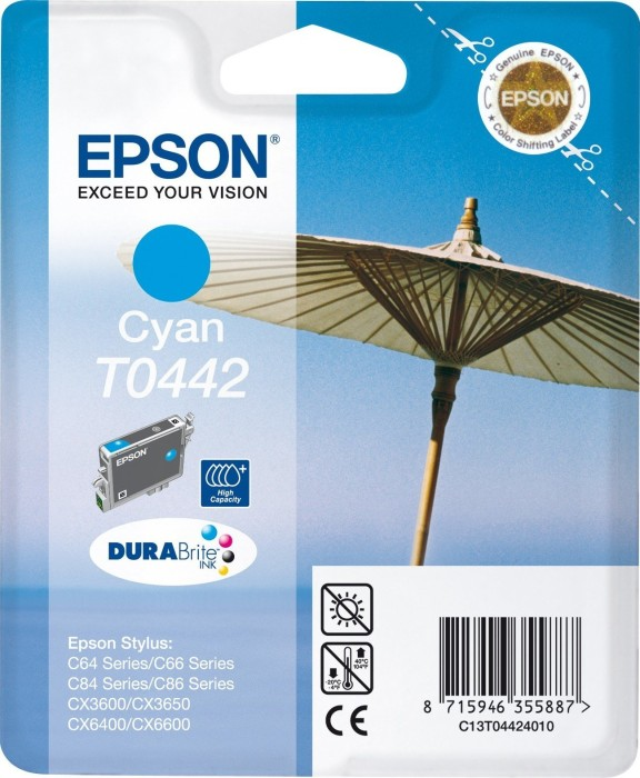 Epson T0442 ink cyan (C13T04424010)