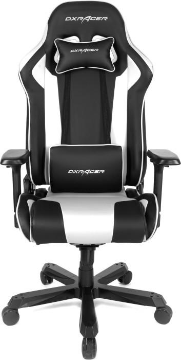 DXRacer King Series King K99 Gamingstuhl, schwarz/weiß (OH/KA99/NW / GC-K99-NW-A3-01)