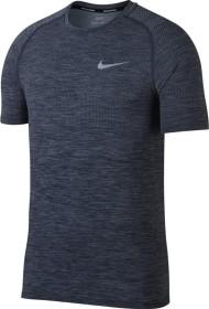 Nike Dri-FIT Knit Laufshirt kurzarm cirrus blue/thunder blue (Herren) (833562-465)