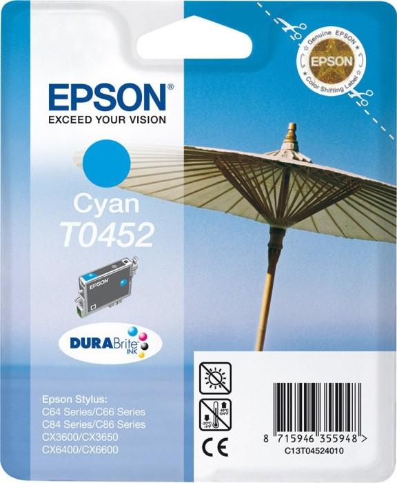 Epson T0452 Tinte cyan (C13T04524010)