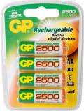 GP Batteries Mignon AA NiMH rechargeable battery 2500mAh, 4-pack (GP 250AAHC-UC4)