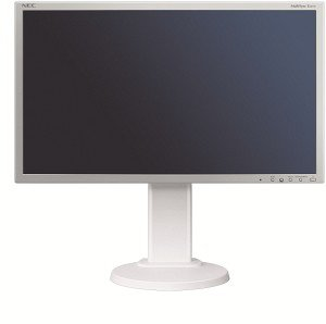 "NEC MultiSync E201W silver/light grey, 20"" (60002818)"