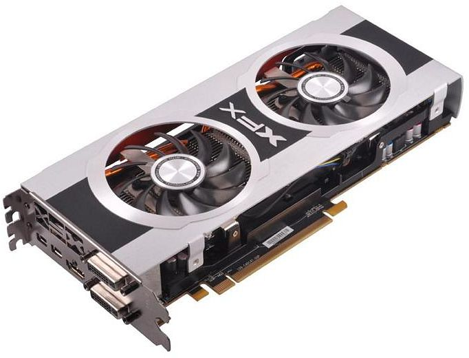 XFX Radeon HD 7870 GHz Edition, Black Edition Dual Fan, 2GB GDDR5, 2x DVI, HDMI, 2x Mini DisplayPort (FX-787A-CDBC)