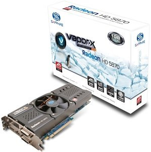 Sapphire Vapor-X Radeon HD 5870 Rev. 2, 1GB GDDR5, 2x DVI, HDMI, DisplayPort, full retail (11161-03-40R)
