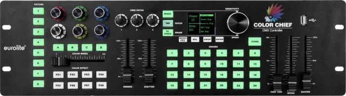 Eurolite DMX LED colour Chief controller (70064575) from £ 119 00