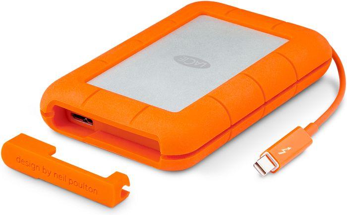 "LaCie Rugged Thunderbolt 2TB, 2.5"", USB 3.0 micro-B/Thunderbolt 1 (9000489)"