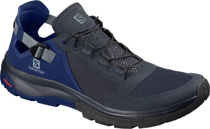 salomon techamphibian 4 navy blazer mazarine blue wil quarry herren 406218