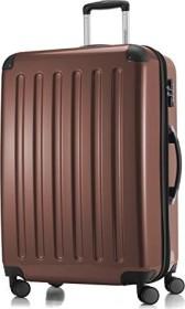 Hauptstadtkoffer Alex TSA Spinner erweiterbar 75cm braun glänzend (82780055)