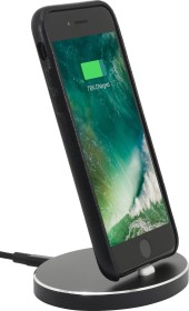 Stilgut iPhone Dockingstation Oval schwarz (B06WGM9RJX)