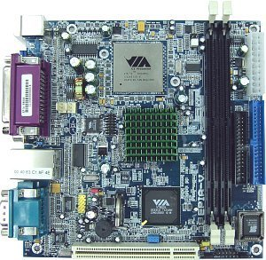VIA (VPSD) EPIA V5000, mini-ITX (SDR)