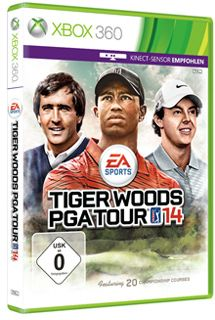 EA sports Tiger Woods PGA Tour 14 (Kinect) (German) (Xbox 360)