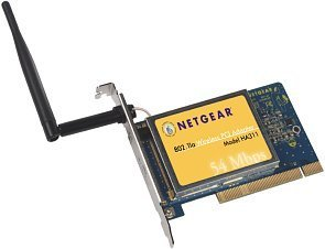 Netgear HA311 802.11a Wireless PCI adapter