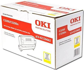 OKI Trommel 42126662 gelb -- via Amazon Partnerprogramm