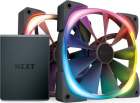 NZXT Aer RGB 2 starter kit, 140mm, 2-pack, LED control (HF-2814C-D1)