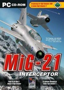 Flight Simulator 2002 - MIG 21 Interceptor (Add-on) (German) (PC)