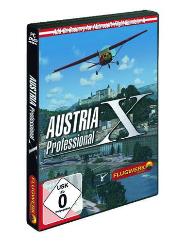 Flight Simulator X - Austria Professional (Add-on) (deutsch) (PC)