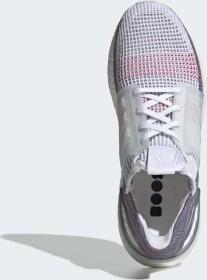 adidas Ultra Boost 19 ftwr whitecrystal whiteblue (Herren